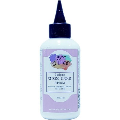 Art Institute Glitter Designer - Colle «Dries Clear» 4oz