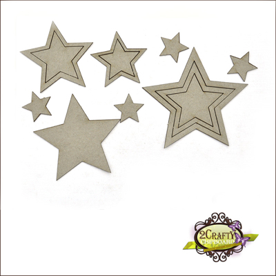 2 Crafty - Ensemble «Stars» 8 pc