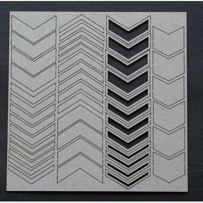 2 Crafty - Chevron Bits