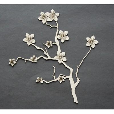 "2 Crafty - «Floral Branch» 6"""