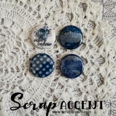 Scrap Accent - Badges modèle «Moment de tendresse»