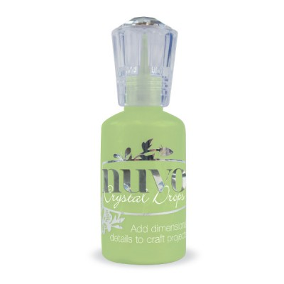 NUVO - Glitter Drops couleur «Gloss Apple green» 669N