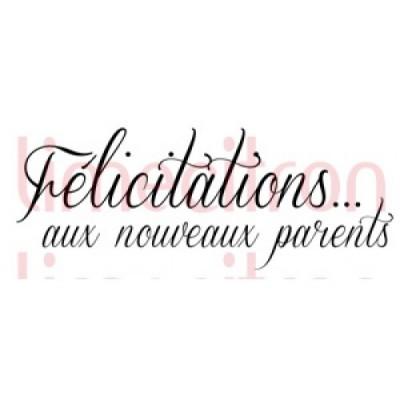 Lime Citron - estampe «Nouveaux parents»