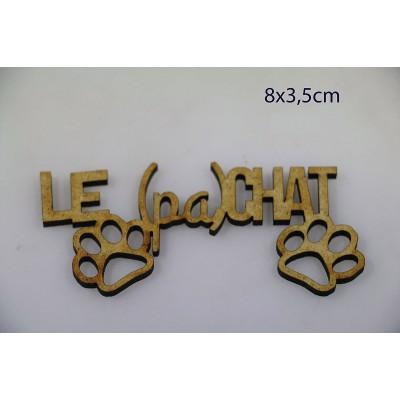 Sagapo - modèle «Le (pa)chat»