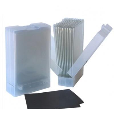 PRÉCOMMANDE - « Stamp-N-Die Wall Box 3 » ensemble de 2 boîtiers + 20 plateaux de rangement + 10 pages aimantées