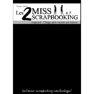 Les 2 Miss scrapbooking - Chipboard «Chaque photo raconte une histoire»