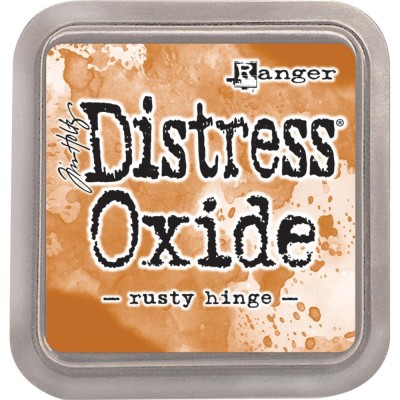 Distress Oxides Ink Pad - Tim Holtz- couleur «Rusty Hinge»