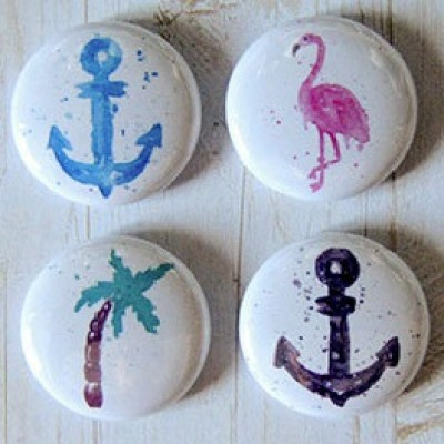 "Accent Scrapbooking - Badges modèle ""Ancre"""