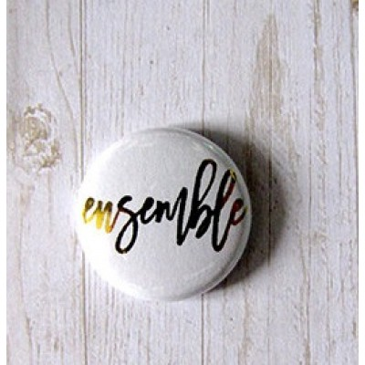 "Accent Scrapbooking - Badge modèle ""Ensemble"""