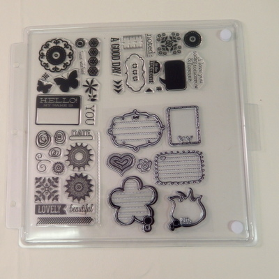Totally Tiffany - Clear Stamp Storage Trays (paquets de 3)