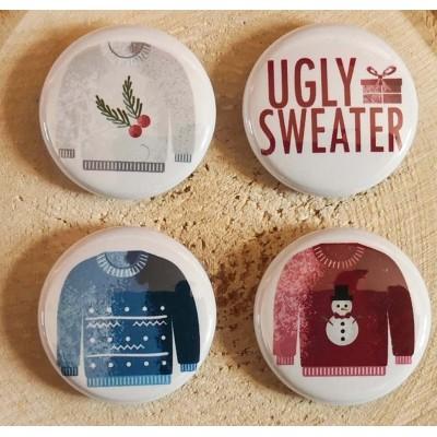Scrap Accent - Badges modèle «Ugly Sweater»