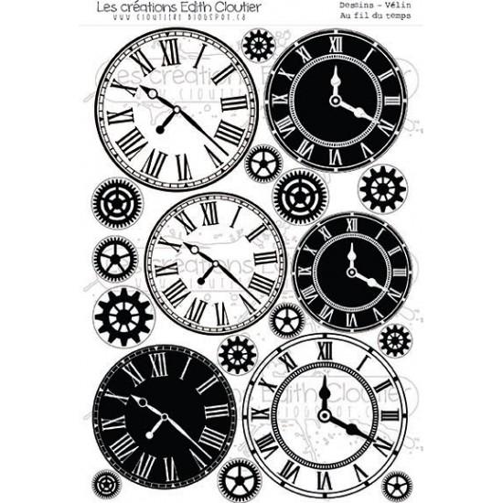 Créations ÉC - Vélin «Au fil de temps»